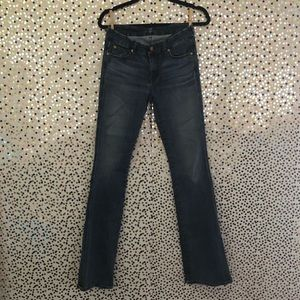 2X$15 7 for all mankind jeans size 28